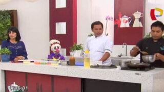 Aprenda a preparar un delicioso Fetuccini en salsa de mariscos