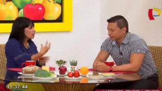 Nutricionista brinda dietas saludables para personas hipertensas