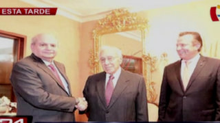Pedro Cateriano se reunió con fundador del PPC Luis Bedoya Reyes
