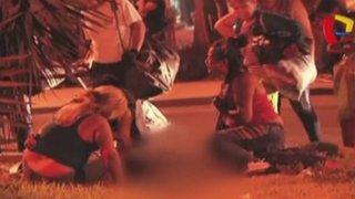 Independencia: pelea a botellazos y balazos deja un muerto en 'fiesta chicha'