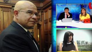 """Javier Ángeles: """"Patricia Robinson no presentó elementos, denuncia es falsa"""""""