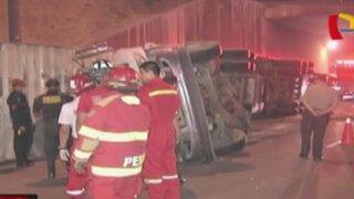 San Borja: accidentes de tránsito dejan tres heridos en Javier Prado