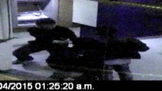Arequipa: registran violento asalto en cajero automático