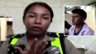 Chincha: mujer policía es agredida por chofer de colectivo