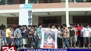 Estudiantes de la UNI realizan plantón y piden justicia para joven atropellado por militar