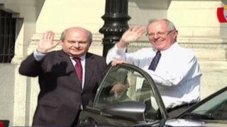 Pedro Cateriano se reunió con PPK  en Palacio de Gobierno