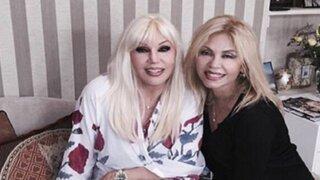 Divas paralelas: Gisela Valcárcel tuvo encuentro con Susana Giménez en Argentina