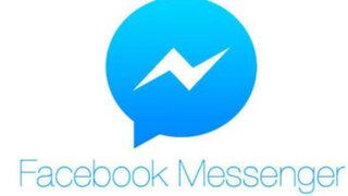 Facebook lanza su servicio Messenger para web