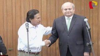 Pedro Cateriano se reunió con expresidente Alejandro Toledo