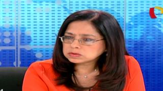 """Ministra Huaita: """"Hay disposición para investigación por desaparición de 1.5 millones de pañales"""""""