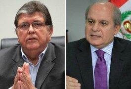 Pedro Cateriano admite que reunión con Alan García fue la más difícil