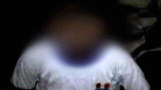 Tumbes: detienen a presunto violador con niña desnuda en Zarumilla