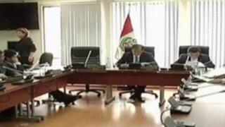 Oficialistas intentan presentar informe en minoría de caso López Meneses