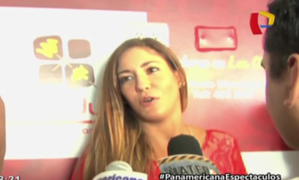 Tilsa Lozano afirma que su pareja respeta su trabajo y no se molesta por temas pasados