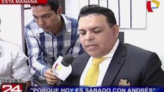 Andrés Hurtado nos adelante algunas sorpresas que tendrá en su programa sabatino