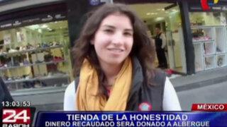 México: inauguran 'Tienda de la Honestidad' donde compradores se atienden solos