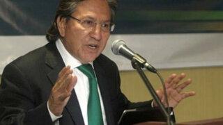 Perú Posible oficializará candidatura de Alejandro Toledo en noviembre