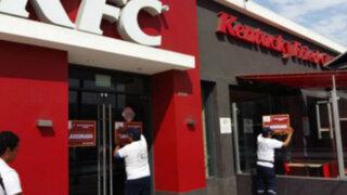La Victoria: municipalidad clausuró local de comida rápida por faltas sanitarias
