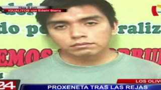 Los Olivos: cae proxeneta que lideraba red de prostitución en Lima Norte