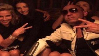 Hija de Paul Walker comparte foto con actor Vin Diesel