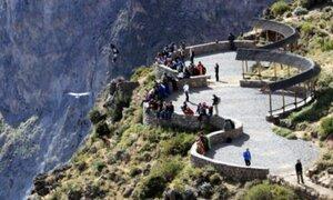 Valle del Colca: realizan mantenimiento en cinco miradores naturales