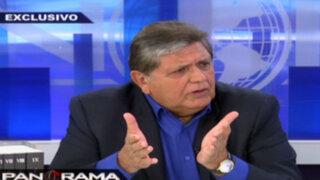 """Alan García sobre Cateriano: """"Decisión de diálogo con la oposición es un paso decisivo"""""""