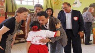 Marc Anthony llegó a Lima para apoyar proyecto educativo