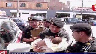 Rescatan a bebé que fue secuestrada en San Martín de Porres