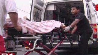 Anciana resulta herida tras caer por tragaluz de ascensor en Magdalena