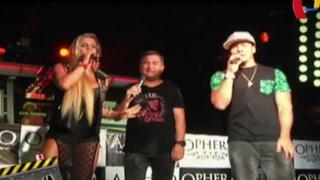 Alejandra Baigorria y Mario Hart animaron juntos en una discoteca de Lima Norte