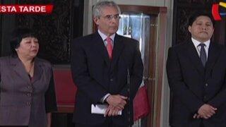 """Fernando Andrade: """"Vamos a darle la confianza al Gabinete Cateriano"""""""