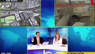 Sedapal anuncia corte de agua en distritos de Lima debido a obras en av. Benavides