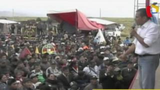 Ollanta Humala defiende programas sociales: afirma que críticos buscan fines políticos