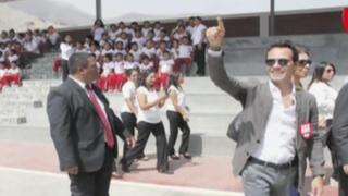 Marc Anthony visitó Lima para apoyar proyecto educativo