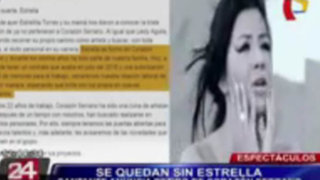 Estrella Torres dejó Corazón Serrano tras agredir a Thamara Gómez