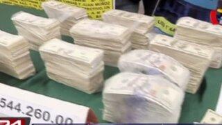 Policía incautó más de medio millón de dólares falsos