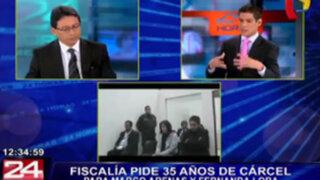 Abogado de Fernanda Lora dice que acusaciones de Fiscalía tienen deficiencias