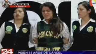 Piden 35 años de cárcel para Fernanda Lora y Marco Arenas