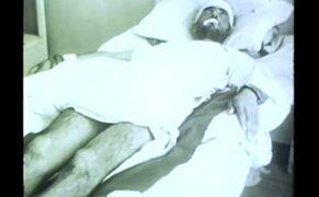 VIDEO : perturbadoras imágenes de humanos con rabia