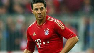 Bayern Múnich no le renovaría el contrato a Claudio Pizarro