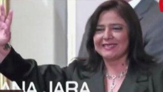 Critican a Ana Jara por pedir licencia para conducir programa de TV