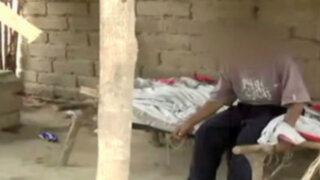 Áncash: encadenan a anciano que sufre de Alzheimer y esquizofrenia