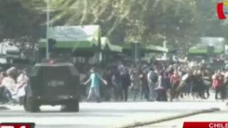Chile: jóvenes vuelven a protestar contra el gobierno