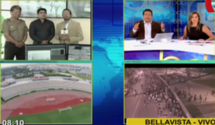 Bellavista: autoridades desplegan plan de seguridad para semifinal de Torneo del Inca