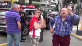 Miraflores: nuevo video muestra a ciudadano español agrediendo a empleada