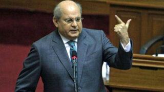 """Cateriano: """"No hay forma de que las elecciones generales se posterguen"""""""