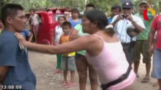 Pobladores atrapan y golpean a ladrón en Tingo María