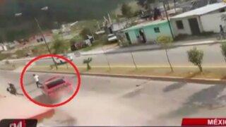 México: peatón muere tras ser atropellado durante competencia de piques