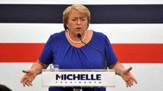 Chile: Bachelet hace llamado para nueva Constitución