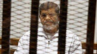 Egipto: expresidente Mohamed Mursi fue condenado a 20 años de prisión